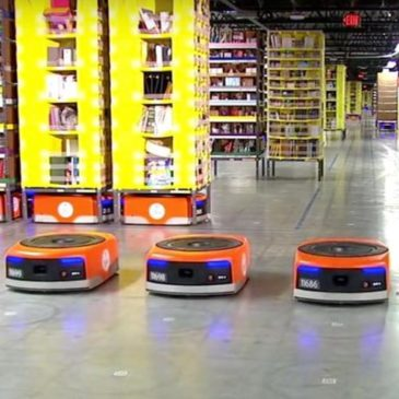 Can warehouse robots help solve supply chain issues?